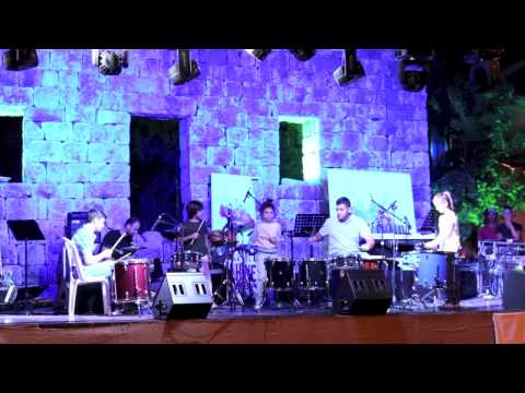 "Mozart Chahine ""Keep The Beat""  At Fete De La Musique Ballouneh"