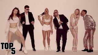 Top 5 Most Surprising Music Videos