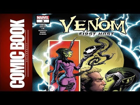 Venom First Host #3 | COMIC BOOK UNIVERSITY
