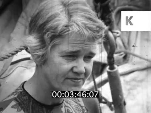 1960s, Female Crew Member Speaks About Opposition to Vietnam War, Quaker