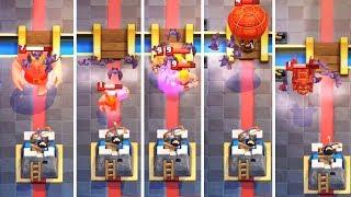 Летучие мыши против всех карт! Clash Royale