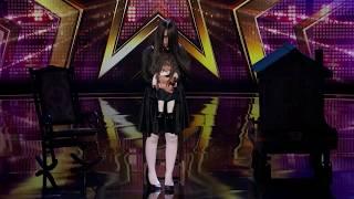 ШОК ! Сакред Риана 2  Ужасы на шоу талантов! Русские субтитры Scary Sacred Riana AGT subtitles