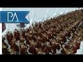 Mordor Invasion of Dol Guldur: Elves and Dwarves Stand United - Third Age Total War Mod Gameplay