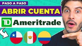 EL MEJOR BROKER para INVERTIR desde CHILE ? Cómo ABRIR UNA CUENTA en TD AMERITRADE