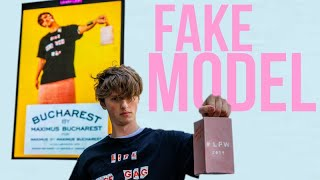 How I Got A Fake Model On Billboards Across London... For Free