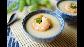 輕鬆電鍋蛋料理~學做水嫩嫩的茶碗蒸(蒸蛋)!
