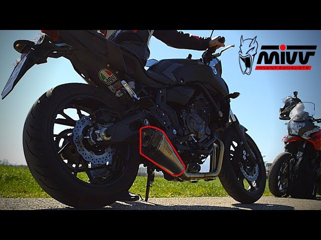MIVV Delta Race - Yamaha MT07 (sound check)