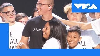 Logic Shares the Stage w/ Young Immigrants | 2018 Video Music Awards