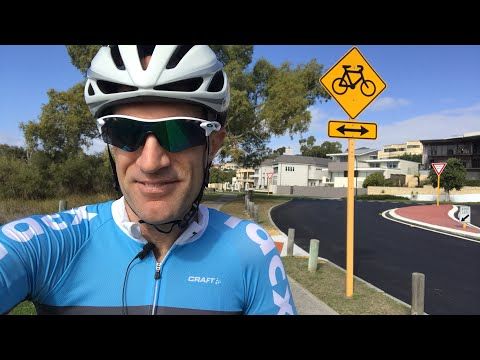 Lama Live: Perth River Loop (Tail wind section!) 🚲💨