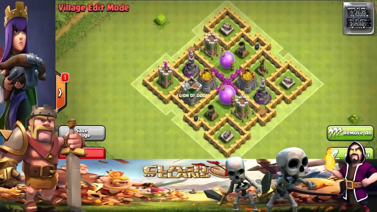 Clash of Clans Town Hall 6 Defense BEST (CoC TH6) Hybrid ...