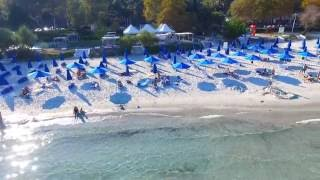 Thassos hotel Makryammos bungalows. Тасос отель Макриамос бунгалос.(The survey was conducted on Phantom 3 4k I bought here http://ali.pub/aus9n., 2016-10-05T08:39:43.000Z)