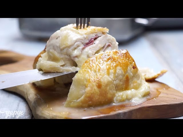 Milföyde Tavuk Rulo Tarifi, Nasıl Yapılır?