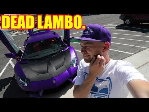 My Lamborghini Aventador Died.