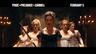 Фильм Гордость и предубеждение и зомби (2016) в HD смотреть трейлер