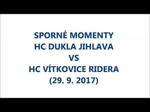 VÍTKOVICE TV 636: Sporné momenty HC Dukla Jihlava - HC VÍTKOVICE RIDERA