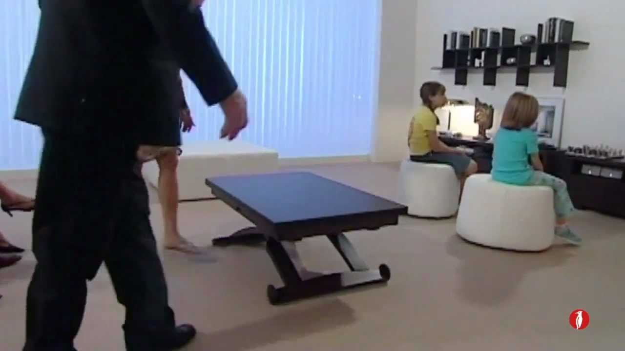 Table De Ping Pong Transformable www.calligaris-store mascotte table relevable extensible.mp4