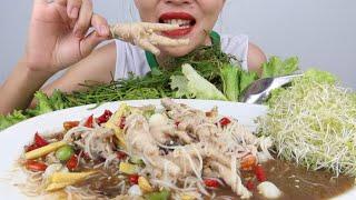 ยำขนมจีนตีนไก่จะยำจะตำก็ไม่ผิดแซบนัวคือเก่า27/7/2020
