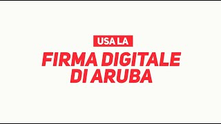 #Arubait | Firma Digitale