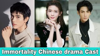 Luo Yun Xi And Arthur Chen Upcoming Drama Immortality Cast Revealed