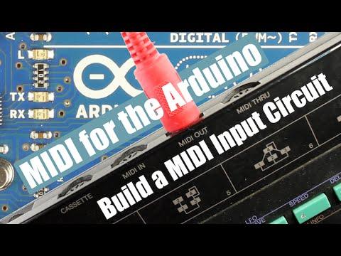 MIDI for the Arduino - Build a MIDI Input Circuit - YouTube