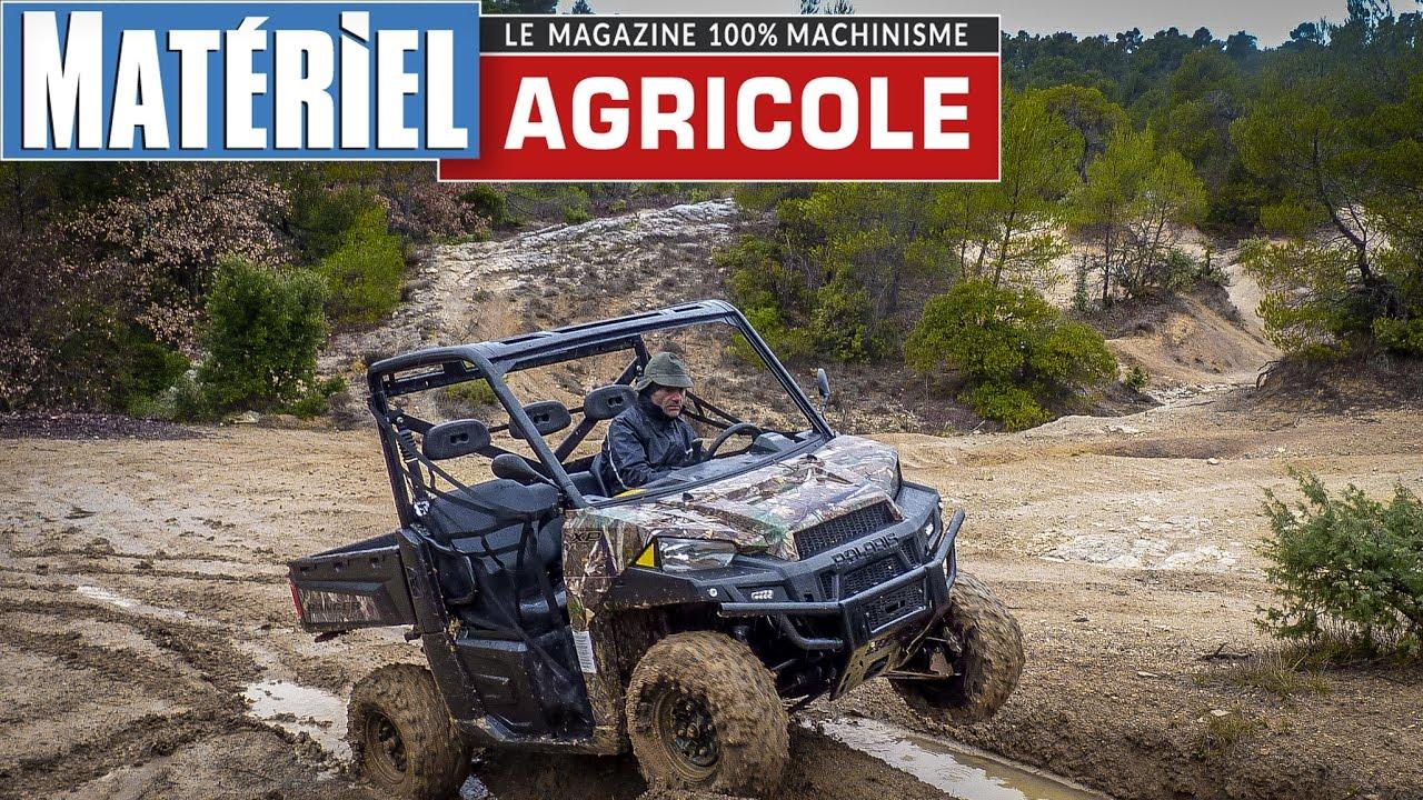 Download L'essai du SSV Polaris Ranger XP 900 by Matériel Agricole