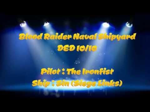 Eve Online - Blood Raiders Naval Shipyard DED 10/10 (Sin)