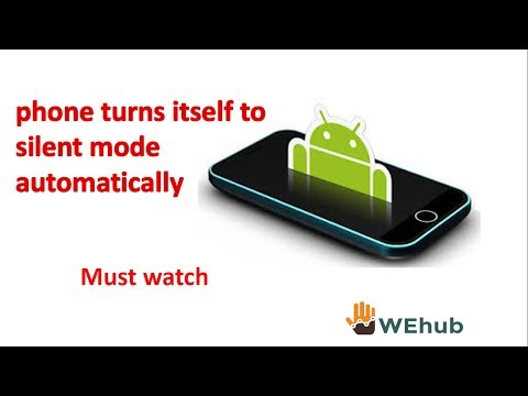 Auto Silent Mode Android | Turn Itself On Silent Mode