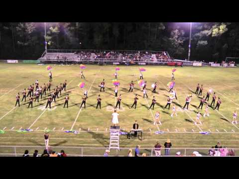 09-26-2014 Citronelle High School Band Half Time Show