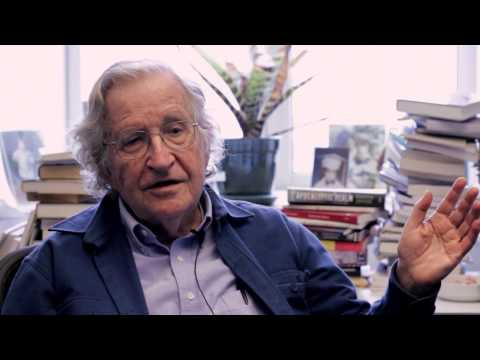 Noam Chomsky - Theater, art, and political vocabulary in relation to social movements