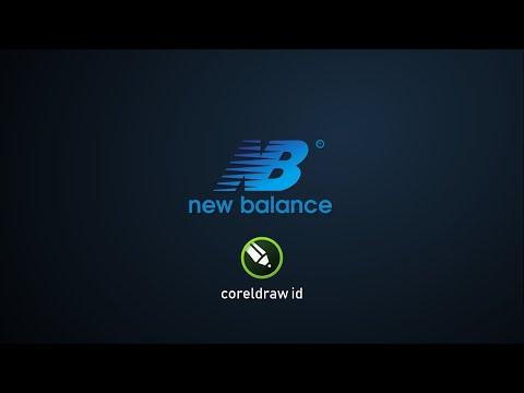 How to Make NEW BALANCE Logo in CorelDRAW 2019