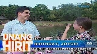 Unang Hirit: Joyce Pring, sinorpresa ni Juancho sa kaniyang kaarawan