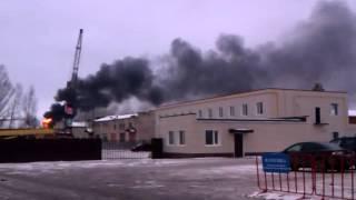 Пожар Вологда(Возгорание на складе мебельного производства., 2015-11-28T10:57:45.000Z)
