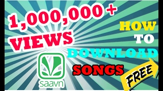 Download How to DOWNLOAD ANY (SAAVN) Song FOR FREE | HACK | Mr.Multiples