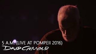 David Gilmour - 5 A.M. (Live At Pompeii)