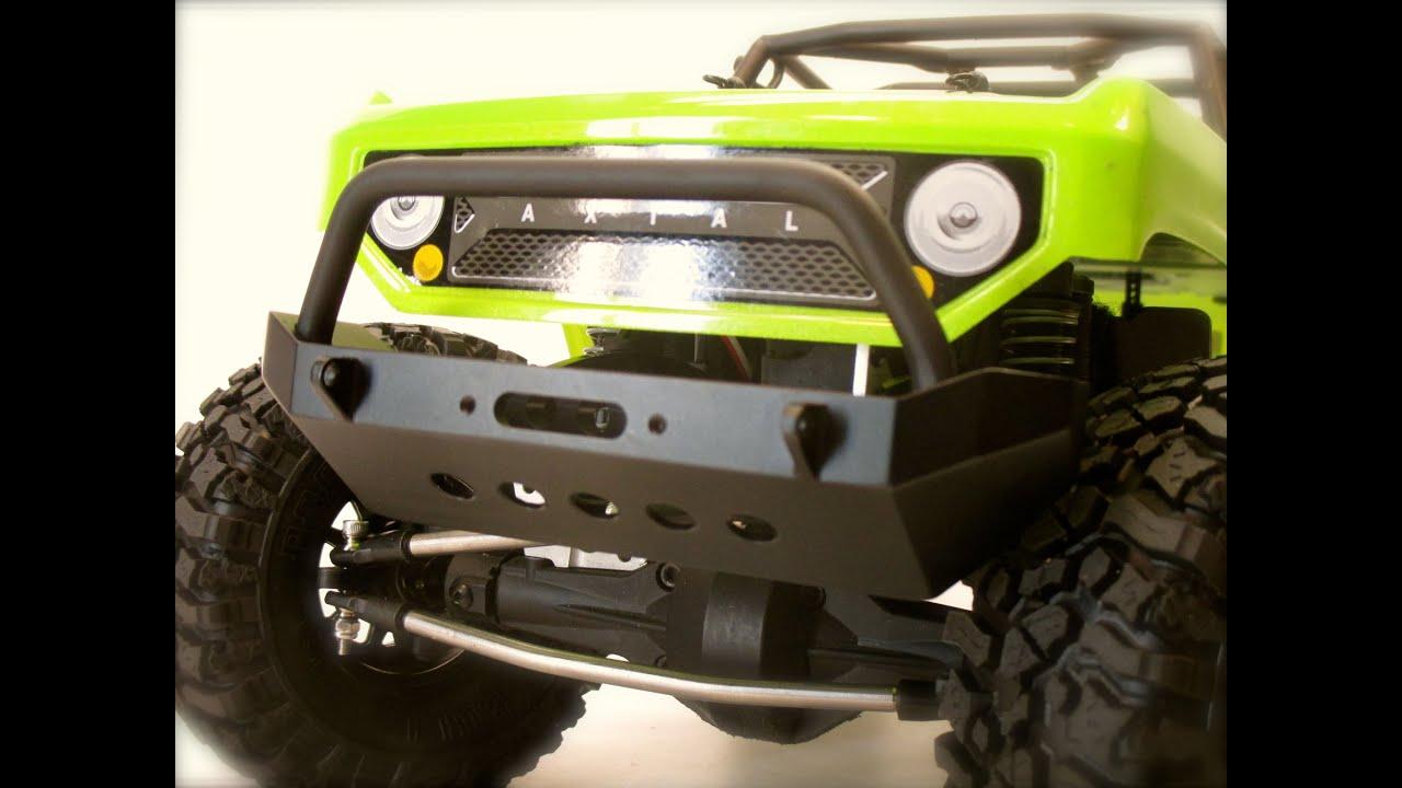 Axial Scx10 Deadbolt Ssd Front Bumper 50 Budget Build