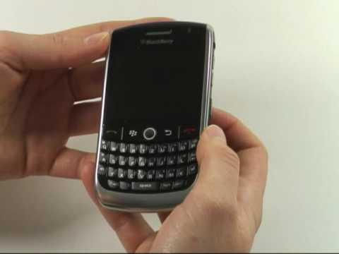 BlackBerry Curve 8900 Test Erster Eindruck