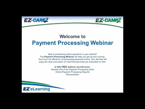 EZCare2 Payment Processing
