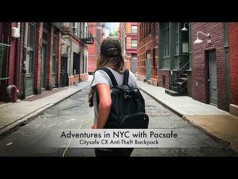 Stylish + Secure: The Citysafe CX Anti-Theft Backpack by Pacsafe