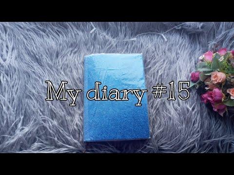 Обзор на 15 Лд/ Личный дневник / хорошее оформление / последнее видео с этим лд/❤️