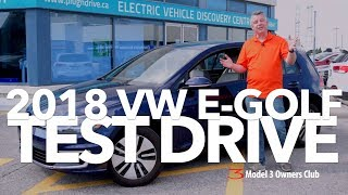 2018 VW E-GOLF Test Drive | Model 3 Owners Club