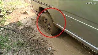 超讚!農村大叔發明神奇差速器,汽車陷入泥坑1秒就出來【發明迷】