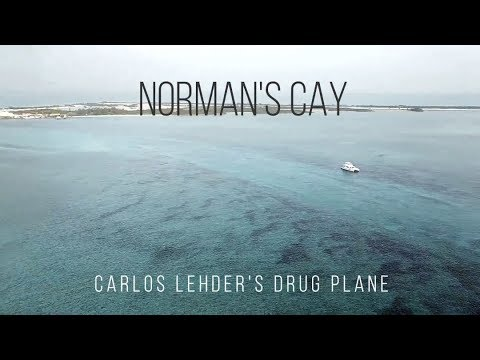 Norman's Cay Short Film and Carlos Lehder's Famous Drug Plane!