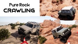 Pure Rock Crawling - First Impressions Gameplay - PC STEAM HD