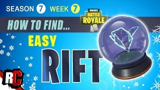 Fortnite WEEK 7 Fast way to complete Rift-to-go challenge (Rift Location Season 7)