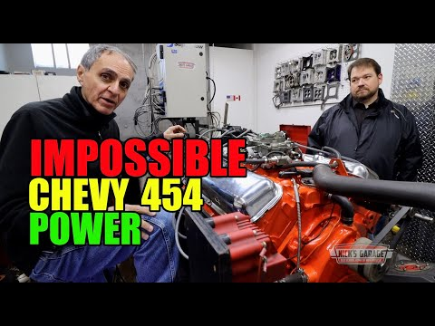 Big Horsepower Chevy With Iron Intake? - They Said It Couldn't Be Done!