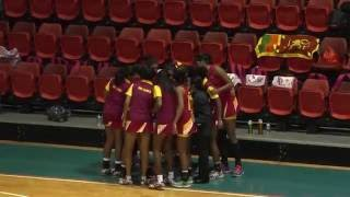 9th Asian Youth Netball Championship   Finals 1st vs 2nd Sri Lanka vs Malaysia