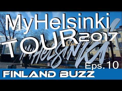 HELSINKI 2017 QUICK TOUR - MyHelsinki. (4K) World Figure Skating Championships
