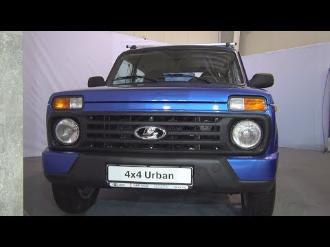 Lada Niva 4x4 Urban 2018 Exterior and Interior