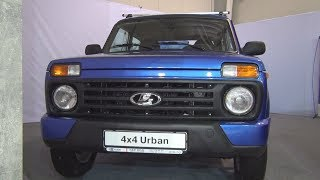 Lada Niva 4x4 Urban (2018) Exterior and Interior