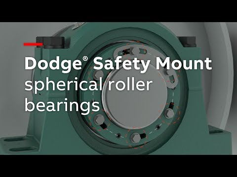 Dodge Safety Mount spherical roller bearings